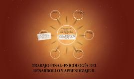 Copy of Psicología del Desarrollo y Aprendizaje II
