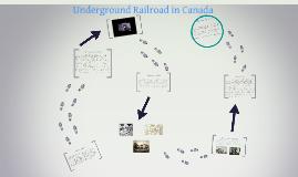 Underground Railroad in Canada