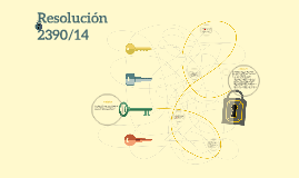 Resolución 2390/14