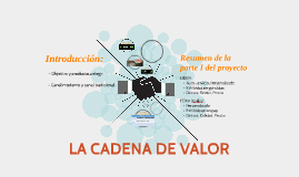 Copy of LA CADENA DE VALOR