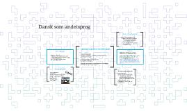 Sprog i danskundervisningen