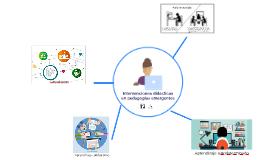 Intervenciones didácticas en pedagogías emergentes