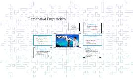 Elements of Empiricism