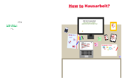 How to Hausarbeit