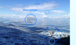Copy of DESALINATION