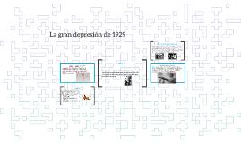 Copy of La gran depresión de 1929