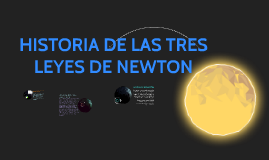Copy of HISTORIA DE LAS TRES LEYES DE NEWTON