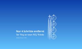 Der Weg zur neuen RCG-Website