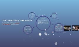 The Great Gatsby Film Analysis