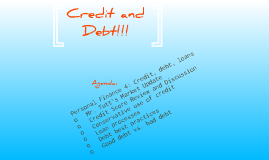 Investment Challenge: Class 10 - Credit and Debt