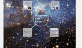 astronomy in trigonometry