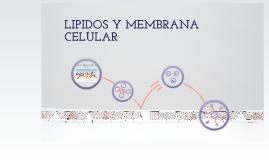 Lipidos y membrana celular