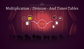 Multiplication / Division - And Times Tables
