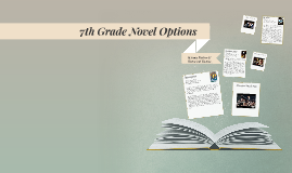 7th Grade Novel Options