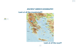 Copy of Greece's Geography