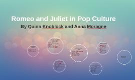 Romeo and Juliet in Pop Culture