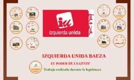 IZQUIERDA UNIDA BAEZA