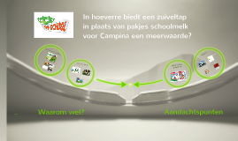 Minor Brandmanagement - advies Campina (FICTIEF)