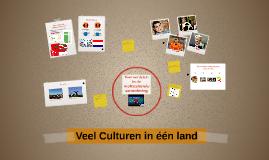 Veel Culturen in één land