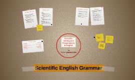 Scientific English Grammar
