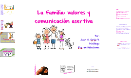La Familia: valores y comunicación asertiva