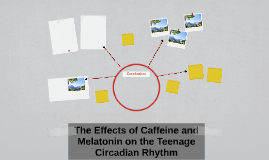 The Effects of Caffeine and Melatonin on the Teenage Circadi