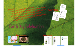 Copy of Earth Day Celebration!