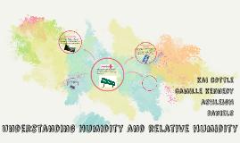 Understanding Humidity and relative humidity