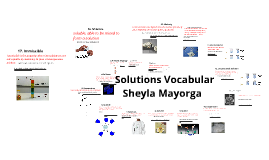 Solutions Vocabulary