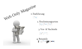 Web Only Magazines