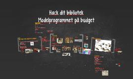 Copy of Hack dit bibliotek - Mariager