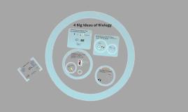 Copy of The 4 Big Ideas of AP Bio - 2016