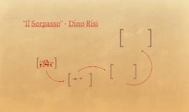 """""""IL SORPASSO"""" - Dino Risi"""
