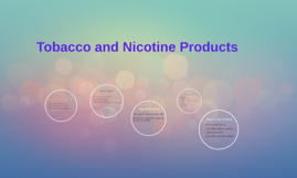 Tobacco and Nicotine Products