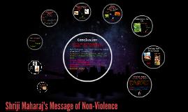 Copy of Shriji Maharaj's Message of Non-Violence