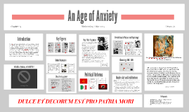 Chapter 34: An Age of Anxiety