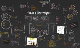 Fluids & Electrolytes/Acid Base Balance