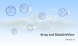 Copy of Array and DataGridView