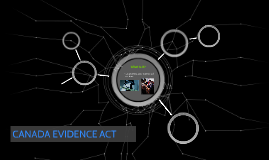 CANADA EVIDENCE ACT