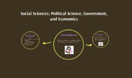 Political Science/Government/Economics