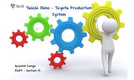 Taiichi Ohno -
