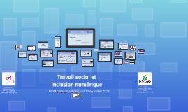 Travail social et numérique - Journée de formation ITSRA Clermont-Ferrand, 05.10.18