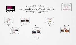 American Repertory Theater 2015-16