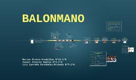 Copy of Balonmano
