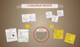 Language Death - Discourse