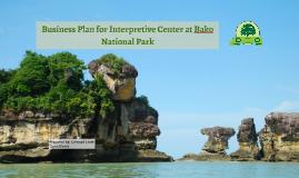 Business Plan for Bako National Park