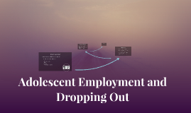 Adolescent Employment and Dropping Out