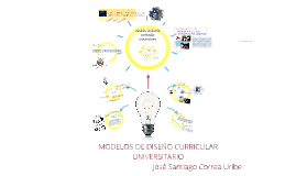 Copy of MODELOS DE DISEÑO CURRICULAR UNIVERSITARIO