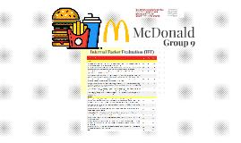 IFE McDonald
