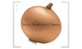 the social penetration theory Social penetration theory plays a central role in social psychology the theory states, ''people assess interpersonal rewards and costs, satisfaction and dissatisfaction, gained from interaction with others, and that the advancement of the relationship is heavily dependent on the amount and nature of the rewards and costs.